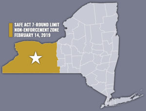 SAFE Act Seven-Round Capacity Limit Non-Enforcement Zone Overtakes 100 Percent of WNY