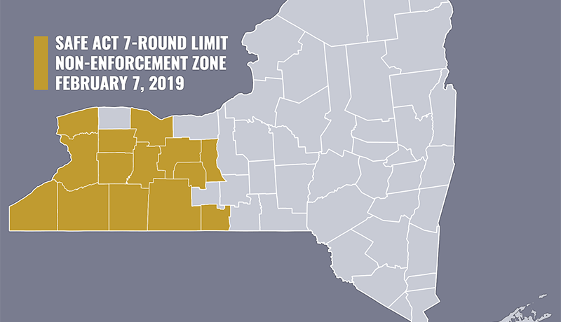 WNY SAFE Act Non-Enforcement Zone