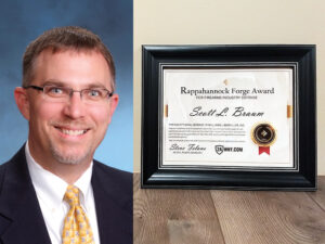2AWNY Presents Rappahannock Forge Award for Firearms Industry Defense
