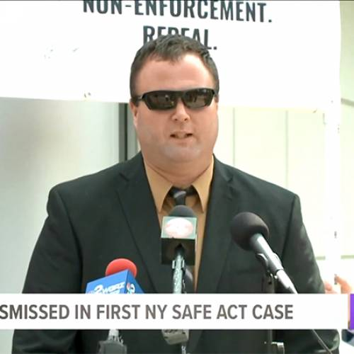 First Ever SAFE Act Conviction Dismissed with Prejudice